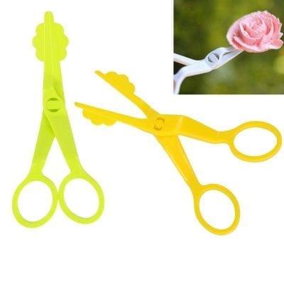 Ножницы для снятия кремовых цветов