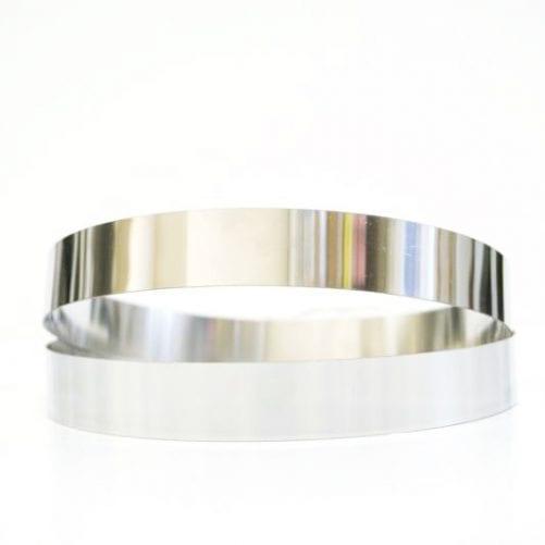 Форма для выпечки Кольцо диаметр 12 см, высота 2 см, нержавеющая сталь