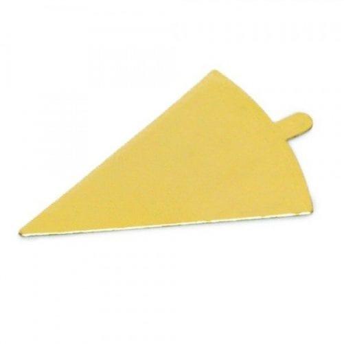 Подложки для пирожных теугольник с держателем