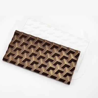 форма для шоколадной плитки Кубики Экстра