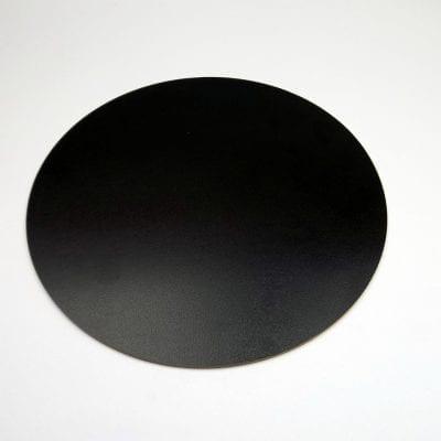 Подложка под торт из оргстекла (акриловая) черная