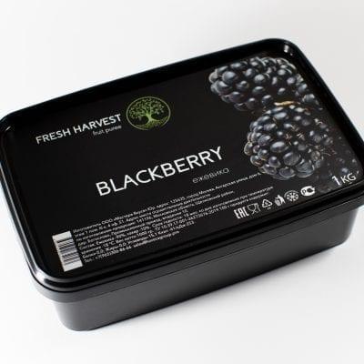 Пюре замороженное Ежевика Fresh Harvest, 1 кг