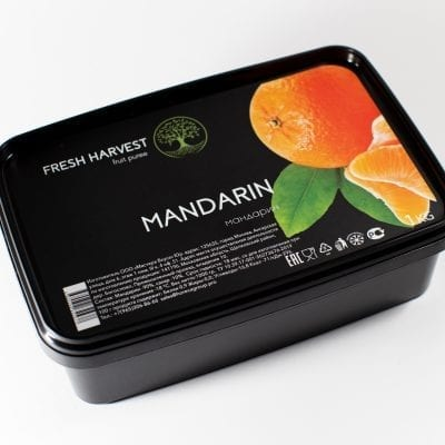 Пюре замороженное Мандарин Fresh Harvest, 1 кг