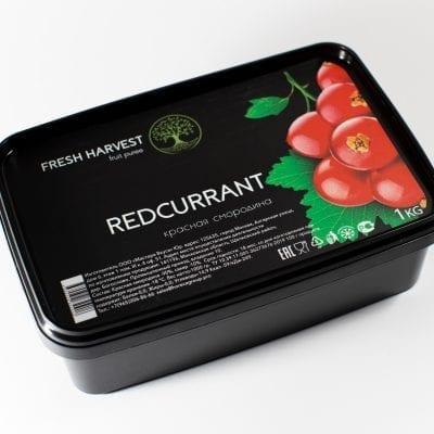 Пюре замороженное Красная Смородина Fresh Harvest, 1 кг