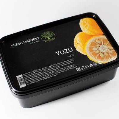 Пюре замороженное Юдзу Fresh Harvest, 1 кг