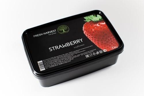 Пюре замороженное Клубника Fresh Harvest, 1 кг