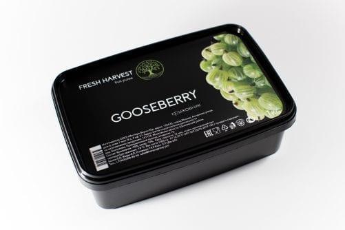 Пюре замороженное Крыжовник Fresh Harvest, 1 кг
