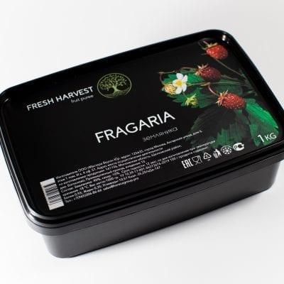 Пюре замороженное Земляника Fresh Harvest, 1 кг