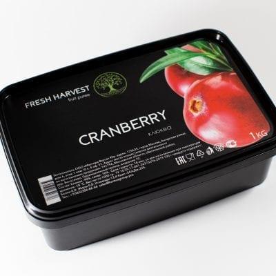 Пюре замороженное Клюква Fresh Harvest, 1 кг