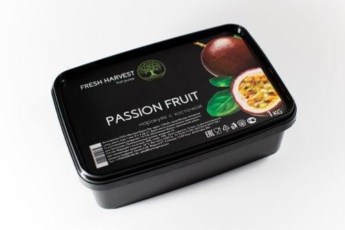 Пюре замороженное Маракуйя с косточкой Fresh Harvest, 1 кг