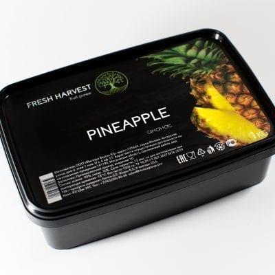 Пюре замороженное Ананас  Fresh Harvest, 1 кг