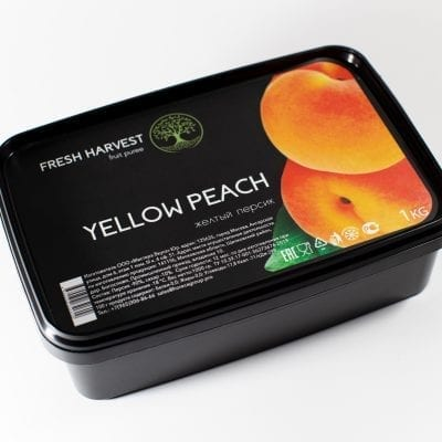 Пюре замороженное Персик  Fresh Harvest, 1 кг
