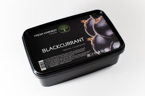 Пюре замороженное Черная Смородина Fresh Harvest, 1 кг