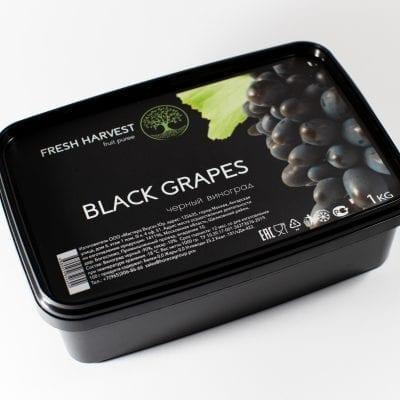 Пюре замороженное Черный виноград Fresh Harvest, 1 кг