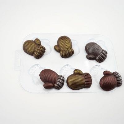 Форма для шоколада Варежки