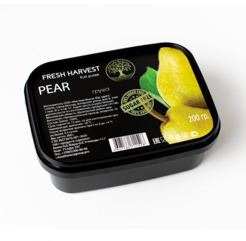 Пюре замороженное Груша Fresh Harvest, 1 кг