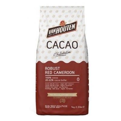 Какао порошок Красный Камерун, Robust Red Cameroon Van Houten 1 кг