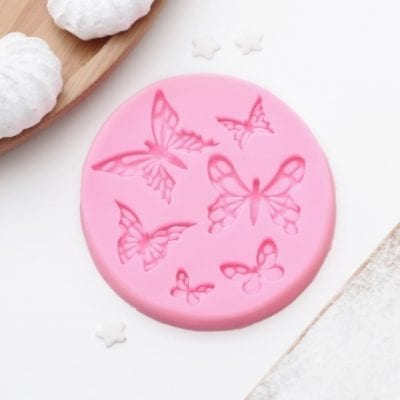 Молд силиконовый «Шесть бабочек»