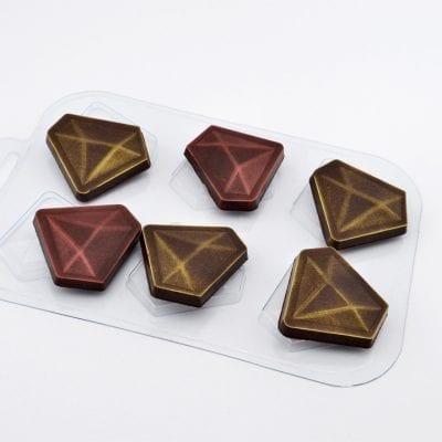 "Форма для шоколада ""Алмазы"""