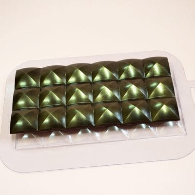 "Форма для шоколада плитка ""Купола"""