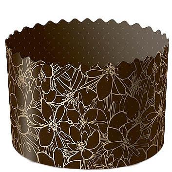 Форма для кулича бумажная Цвет миндаля, Ø 13 см
