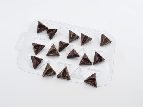 Форма для шоколада конфеты «Треугольники»