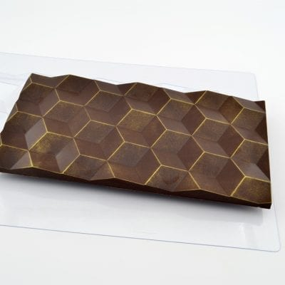 """Форма для шоколада плитка """"Большие Кубики"""""""