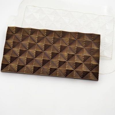 "Форма для шоколада плитка ""Инфлексия"""