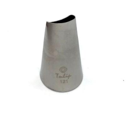 Кондитерская насадка лепесток розы изогнутый №120