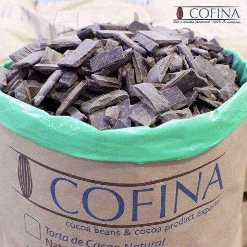 Какао тертое натуральное Cofina, Эквадор