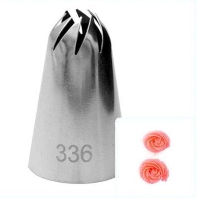 Насадка кондитерская 336 (8 косых лучей)
