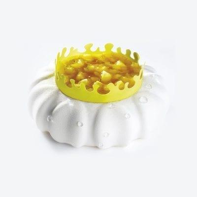 Форма силиконовая 3D Лепесток, PETAL KE014