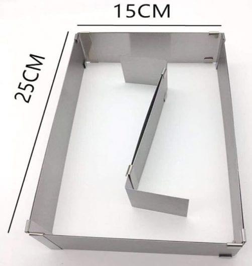 Форма для выпечки раздвижная с разделителем