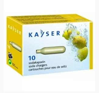 Баллончики CO2 для содовой KAYSER, 10 шт